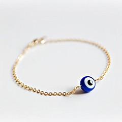 braccialetto occhio delle donne