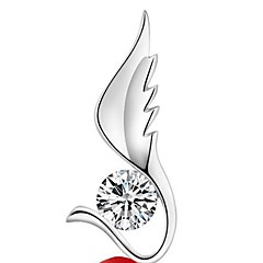 Ladies' Silver Angel Wings Pendant