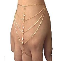 Kjeder & Lenkearmbånd imitasjon Diamond Unikt design Mote Smykker Gylden Smykker 1 stk