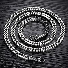 Pánské Řetízky Titanová ocel bižuterie Šperky Pro Svatební Párty Denní Ležérní Sport Vánoční dárky