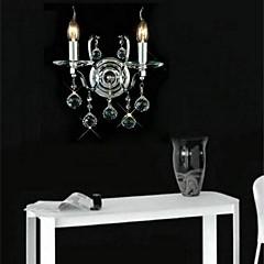 dual lamp kristal muur