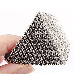 1Pc Fashion Popular Elegant Glass Diamond Hairpin