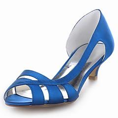 Da donna Scarpe da sposa Tacchi/Spuntate Scarpe col tacco Matrimonio Nero/Blu/Giallo/Rosa/Viola/Rosso/Avorio/Bianco/Argento/Champagne