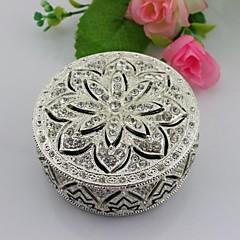 תיבת תכשיט מתנות חתונה תכשיטי סגסוגת מתכת הטובה ביותר עם יהלומים