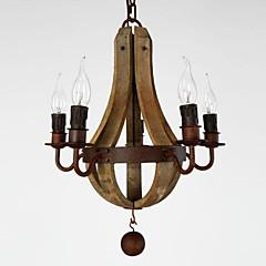 40W Kronleuchter ,  Retro Korrektur Artikel Feature for Ministil Holz/BambusWohnzimmer / Schlafzimmer / Esszimmer / Studierzimmer/Büro /