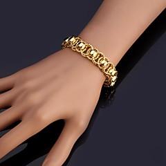 Damen Ketten- & Glieder-Armbänder Armreife Armband Modisch Platiert vergoldet Silber Golden Schmuck FürHochzeit Party Besondere Anlässe