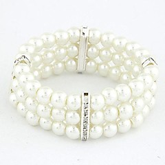 Fashion Wild Temperament Rhinestone Pearl Bracelet (More Colors) Christmas Gifts