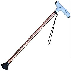 LED Two Segment Old Man Folding Cane Alpenstock
