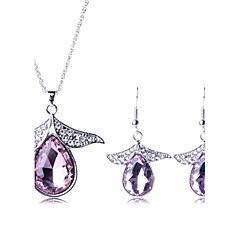 Jewelry Set Women's Party Jewelry Sets Alloy Crystal / Rhinestone Necklaces / Earrings