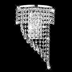 Erröten-Einfassung Wandleuchten-Kristall-Modern/Zeitgemäß-Metall