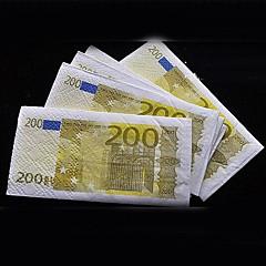 Euro 200 Napkins(1 Pack,10pcs per Pack,21*21cm)