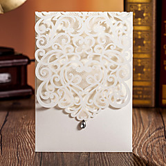"Wrap & Pocket Wedding Invitations 20 50-Invitation Cards Card Paper 5""×7 ¼"" (12.7*18.4cm)"