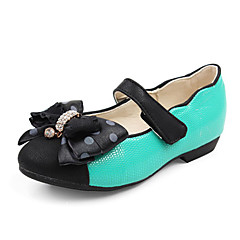 Girls' Shoes Comfort Flat Heel Leather Flats Shoes More Colors available