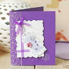 Wedding Invitation Non-personalized Floral Style Thank You Cards(7.5*9cm)