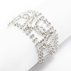 Ladies'/Women/Women's Cubic Zirconia/Alloy Fashion With Cubic Zirconia Bracelet