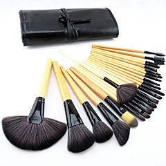 24 ks kosmetických štětců na pudr/make up/korektor/tvářenku/oční stíny/linky/rtěnku sada