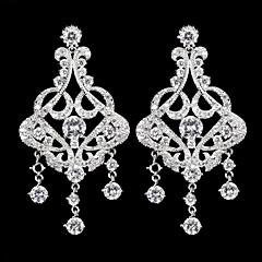 Chandelier Earrings Women's Cubic Zirconia/Alloy Earring