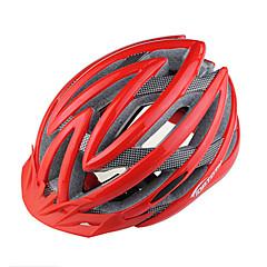 Hora/Cesta - Unisex - Cyklistika/Horská cyklistika/Silniční cyklistika/Rekreační cyklistika - Helma (Červená/Černá/Modrá , PC/EPS) 22 Větrací otvory
