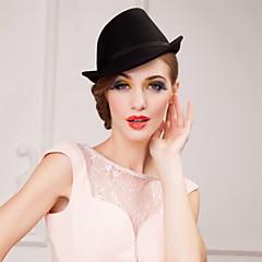 Mulheres Homens Lã Capacete-Ocasião Especial Chapéus