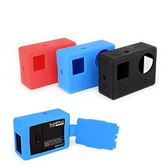Gopro Accessories Protective Case / Gopro Case/Bags / Screw / BackdoorsFor-Action Camera,Gopro Hero 3 / Gopro Hero 3+ Silicone