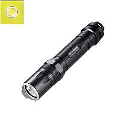 NITECORE SRT5 750 Lumens CREE XM-L2 T6 LED HAIII Tactical Flashlight Torch Light (1X18650/2XCR123, Black)
