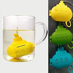 nette Silikon-U-Boot Tee-Ei (gelegentliche Farbe)