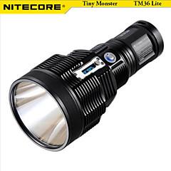 Linternas LED LED 5 Modo 1800 LumensA Prueba de Agua / Recargable / Resistente a Golpes / Empuñadura Anti Deslice / Clip / Emergencia /