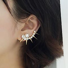 Poignets oreille Perle Imitation de perle Imitation de diamant Alliage Bijoux 2pcs