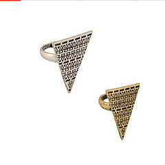 Lucky Star Women's Vintage Triangle Alloy Ring