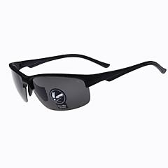 100% UV400 polarizada envoltório liga de esportes óculos de ciclismo dos homens (cores sortidas)