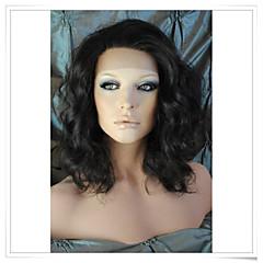 8inch-22inch פאות תחרה גל שיער גוף אנושי רמי הודי 100% lwbw005