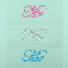 """Mr"" Crystal Acrylic Shoe Sticker (More Colors)"