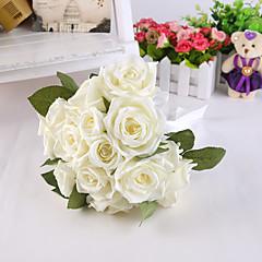 """פרחי חתונה עגול ורדים / פרחי אדמוניות זרים חתונה / חתונה/ אירוע סאטן / משי 7.87""""(לערך.20ס""""מ)"""