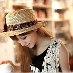 Women Basketwork Hats With Occasion/Casual/Outdoor Headpiece(More Colrs)