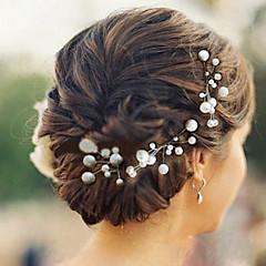 Γυναικείο Απομίμηση Μαργαριτάρι Headpiece-Γάμος Ειδική Περίσταση Καρφίτσα Μαλλιών 6 Κομμάτια