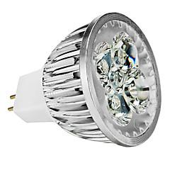 4W GU5.3(MR16) LED Spot Lampen MR16 4 High Power LED 360-400 lm Warmes Weiß / Kühles Weiß / Natürliches Weiß Dimmbar DC 12 / AC 12 V
