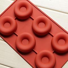 Mode-Silikon-Seifen Pudding Dekorieren Form Küche Muffin donuts Kuchen Backformen Kochen Werkzeuge (gelegentliche Farbe)