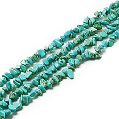 """beadia türkiz kő gyöngyök 5-8mm szabálytalan alakú DIY kiszóródott fit nyaklánc karkötő ékszerek 34 """"/ str"""