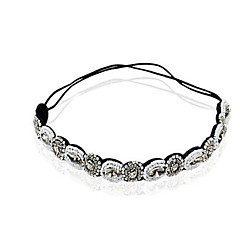 Women's Elastic Crystal Rhinestone Headband