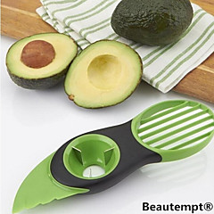 1 stk Cutter & Slicer For For frugt Plastik Creative Kitchen Gadget / Høj kvalitet / Multifunktion