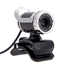 usb 2.0 12 m hd camera webcam 360 graden met mic clip-on voor desktop skype computer pc laptop