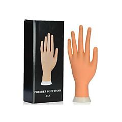 nail art nástroj přední měkký ruční modelu