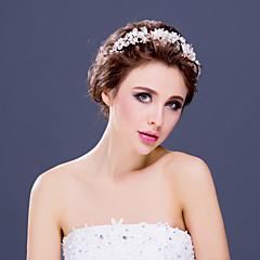 Women's Rhinestone/Alloy/Imitation Pearl Headpiece - Wedding/Special Occasion Tiaras/Headbands 1 Piece