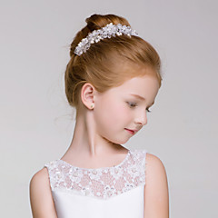 Flower Girl's Alloy / Acrylic Headpiece-Wedding / Special Occasion / Outdoor Wreaths 1 Piece