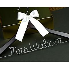 כלה שושבינה נערת פרחים זוג מתנות חתיכה / סט מתנה יצירתית חתונה ברכות תודה סגסוגת אלומיניום עץ מותאם אישית מתנה יצירתית קפה קופסאת קרטון