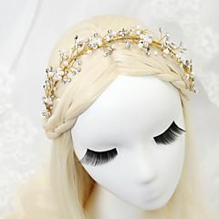 Femme / Jeune bouquetière Strass / Alliage / Imitation de perle Casque-Mariage / Occasion spéciale Serre-tête 1 Pièce Clair