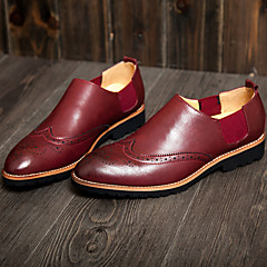 Men's Shoes Wedding / Office & Career / Party & Evening / Casual  Loafers Black / Brown / Burgundy