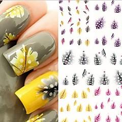 - Finger/Zehe - 3D Nails Nagelaufkleber - Andere - 5 Stück - 10.5X7X0.5 cm