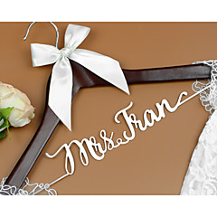 Deluxe Personalized Wedding Dress Hanger, Custom Bridal Bridesmaid Hanger