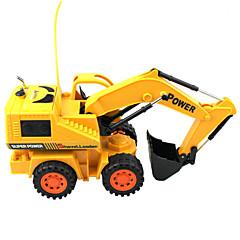 Truggy Excavator RC Car Gelb Fertig zum MitnehmenFerngesteuertes Auto / Fernsteuerung/Sender / Akku-Ladegerät / Batterie für Auto /